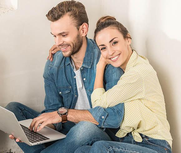 Young couple searching for Home Improvement for their Lakewood, CO Home