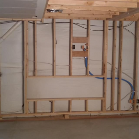 Basement remodeling