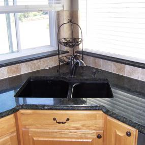 Corner sink kitchen remodeling in Wheat Ridge, Colorado