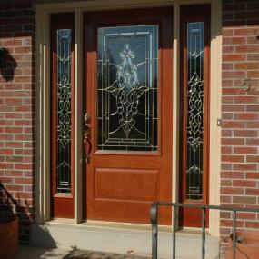New entry door installed by General Contractor in Denver