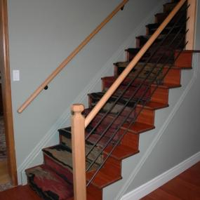 Home improvements needed on staircase